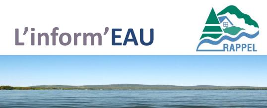 Bulletin Inform'EAU du Rappel, octobre-novembre 2016